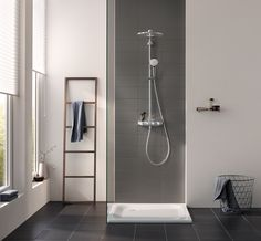 Grohe Euphoria SmartControl 310 Duo Duschsystem chrom - Lilly is Love Bathroom Trends, Chic Bathrooms, Modern Bathroom, Small Bathroom, Master Bathroom, Bathroom Showers, Home Interior, Bathroom Interior, Baños Shabby Chic