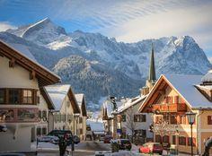 Garmisch partenkirchen winter scene | ... in GaPa: A Weekend's Skiing in Garmisch-Partenkirchen | Lebensstil