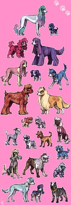 Mlp dogs soo cute I want one! Mlp My Little Pony, My Little Pony Friendship, Twilight Sparkle, Rainbow Dash, Little Poni, Mlp Fan Art, M Anime, Imagenes My Little Pony, My Little Pony Pictures