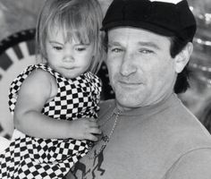 Robin Williams With Daughter Zelda