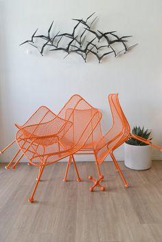 Set of 4 Original Russell Woodard Sculptura Chairs on Etsy, $1,395.00