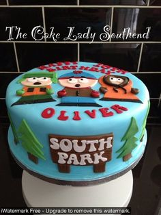 #SouthPark #cake by #TheCakeLadySouthend OMG i wouldnt even want to eat it looks so sweet !!