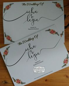 Wedding invitation Icha & Legie Tanya-tanya, atau info lebih lanjut hubungi : ☎ WA : 08561410064 Line : nikahgeh Desain bisa cek di 👉 http://nikahgeh.com #weddingserang#undanganserang #infoserang #undanganminimalis #simpleinvitation #testinikahgeh #undanganpernikahanmurah #undangancantik #pesanundangan #invitationserang#kotaserang#undangancilegon #undanganpandeglang#undanganmurah #undanganpernikahan#undanganonline #undangankreatif#undanganunik#nikah…