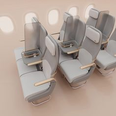 Factorydesign has envisioned how social distancing could be achieved on planes after the coronavirus pandemic with its Isolation screen divider kit. Sneeze Guard, Aircraft Interiors, Library Chair, Design A Space, Design Firms, School Design, Luxury Furniture, Planes, Architecture Design
