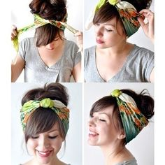 Hair Tie! love this for the summer!