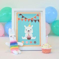 Crochet Toy Springtime Rabbit by AlisaHaggard on Etsy