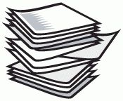 Stack Of Papers Clipart | Free clip art, Paper clip art, Clip art