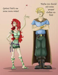 Garion and CeNedra by ~Azalea-Jones on deviantART. Love this series! David Eddings Belgariad Series.