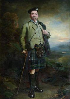 28th Clan Chief ~ Colonel Sir Alan Colquhoun of Luss (1838–1910).  If you have one of the following surnames you can claim to be from the Colquohoun clan.   Calhoun Cowan  Cowen Culchone Kilpatrick  King Kirkpatrick  Laing  MacAchoich  MacCowan MacClintock  MacLintock MacMains  MacManus and MacOwan.