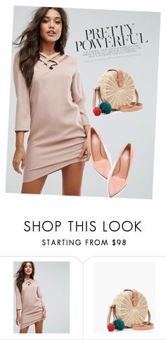 """dress"" by masayuki4499 ❤ liked on Polyvore featuring SuperTrash, J.Crew and Stuart Weitzman"