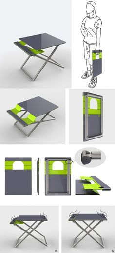 Foldable Tables Are Commonplace. Weu0027ve Seen Loads Of Them. So Are Foldable