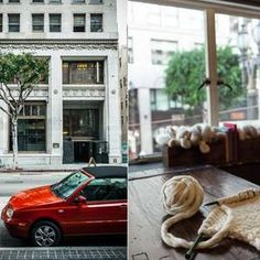 Gather DTLA brings yarn and fiber to the heart of the city. We carry knitting, crochet and spinning supplies that are sourced locally, US-made, and fair trade.