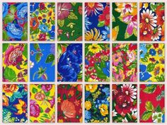 Drops Van Gogh, chita amada, marcenaria de meninas, criatividade e aprendendo a priorizar - A casa que a minha vó queria Tile Patterns, Textures Patterns, Color Patterns, Textiles, How To Make Pillows, Pretty Flowers, Decoration, Halloween, Printed Cotton