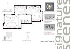 verlichtingsplan | studio Hoogveld & signature scenes