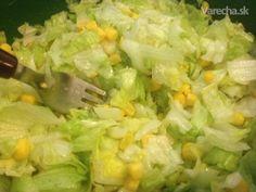 Ľadový šalát s kukuricou alebo Čínsky šalát Ale, Cabbage, Grains, Vegetables, Food, Meal, Ale Beer, Essen, Vegetable Recipes