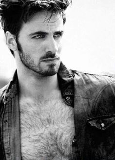 Look at that chest hair! And that smouldering gaze.