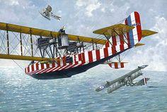 Felixstowe F.2A Flying Boat by Taras Shtyk