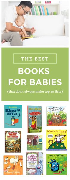 Some of the best board books that don't always make the top 10 lists. Great for shower gifts or just expanding your baby's first library.