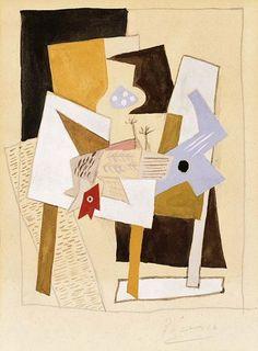 Pablo Picasso - Still life, 1921