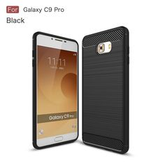 >> Click to Buy << 2017 Hot Carbon Fiber Armor TPU Protective Case Cover For Samsung C9 Pro #Affiliate