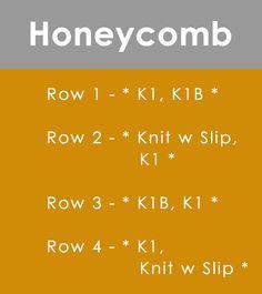 Honeycomb Brioche Stitch with Studio Knit