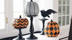 Pumpkin stands should clearly have designer pumpkins on them!  A great way to stay wicked chic this fall.