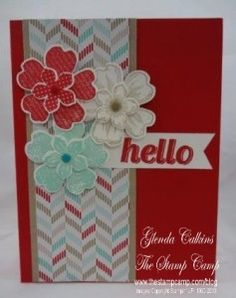 Petite Petals and Flower Shop by Glenda Calkins - Cards and Paper Crafts at Splitcoaststampers