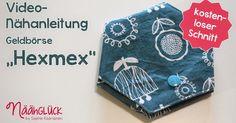 """Hallo ihr Lieben! Es ist soweit: laaaange habe ich mir vorgenommen, das Nähvideo für das beliebte Schnittmuster der Geldbörse """"Hexmex"""" zu..."""