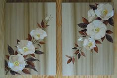 Cherokee Rose Marquetry