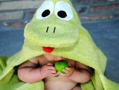 Decorar e Reciclar: Toalha de banho de bebé