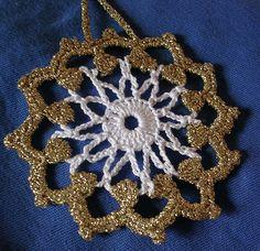 uncinetto - addobbo per albero di natale Little Things, Crochet Earrings, Picasa