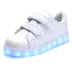 2017 Hot New Spring autumn Kids Sneakers Fashion Luminous Lighted Colorful  LED lights Children Shoes Casual Flat Boy girl Shoes 6c6d9ff94fdd