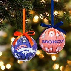 NFL LED Ornament 6-piece Boxed Gift Set