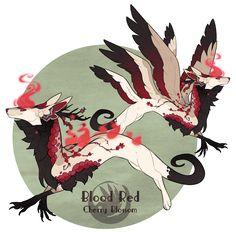 Red Cherry Blossom Dracokai -Custom- by MahoHaku