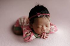Beautiful newborn girl Romper in a pink floral color with delicate headband tieback. Newborn Baby Photos, Baby Girl Newborn, Girls Rompers, Photo Props, Delicate, Floral, Pink, Beautiful