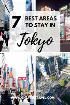 Are you not sure where to stay in Tokyo? Check out this guide with the 7 best areas to stay in Tokyo. Tokyo has over 20 district wards, so it can really be overwhelming to pick the right area for your hotel. Tokyo Travel Guide, Tokyo Japan Travel, Japan Travel Guide, Asia Travel, Japan Trip, Kyoto Japan, Tokyo Trip, Japan Tour Guide, Japan Japan