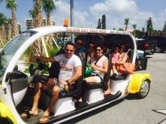 Free tips only rides to the beach, shops, restaurants, and more on Siesta Key, Florida
