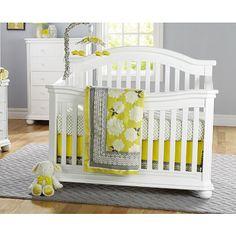 Sorelle Vista Elite 4-in-1 Convertible Crib - White