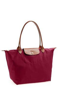 In love with this classic Longchamp tote in a gorgeous color that pairs easily.