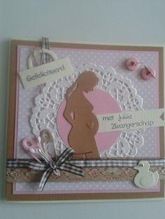 Zwangerschapskaart met lint.knoopjes. Beetje versieren en klaar... Marianne Design, Baby Shark, Baby Cards, Hama Beads, Happy Mothers Day, Baby Shower Invitations, Silhouette Cameo, Babyshower, Cardmaking