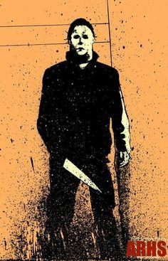 Michael Myers Halloween H20, Halloween Series, Halloween Horror, Halloween Night, Halloween Stuff, Halloween Treats, Horror Icons, Horror Films, Horror Art
