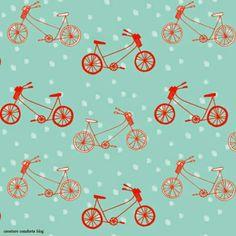 Imprimolandia: Estampado de bicicletas Bicycle pattern