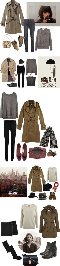 """""""The Trench"""" by coffeestainedcashmere ❤ liked on Polyvore"""