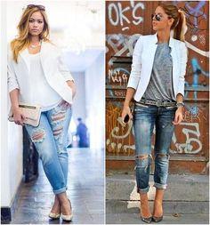 como usar blazer branco looks de inspiração 1