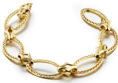 Ray Griffiths oval crownwork link bracelet