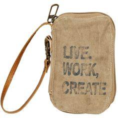 Live, Work, Create Wallet