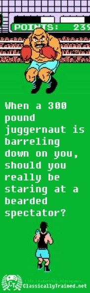 punchout tick quote life lessons