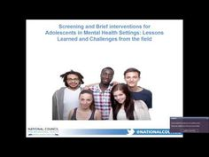 SBIRT for Adolescents in Mental Health Settings   Teens with mental health issues are at increased risk for substance use, but they are rarely screened for substance use in behavioral health settings. To address this gap, the Conrad Hilton Foundation funded the National Council for Behavioral Health to implement Screening, Brief Intervention and Referral to Treatment (SBIRT) as a routine service in 27 behavioral health providers across the country.