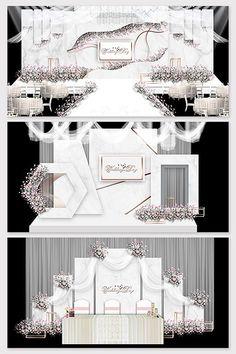 Modern minimalist white marble texture wedding background effect illustration Wedding Backdrop Design, Wedding Stage Design, Backdrop Decorations, Backdrops, Wedding Decorations, White Marble Texture, Pelaminan Modern, Wedding Drawing, Wedding Background