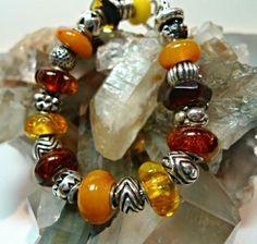 Trollbeads Unique Amber Bracelet